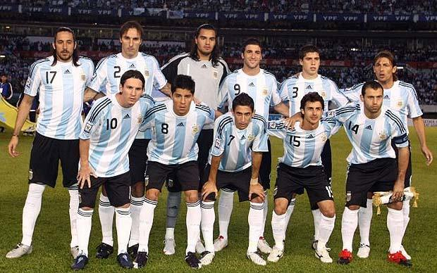 Argentina World cup 2010 team
