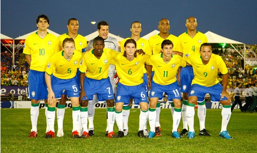 Brazil Worldcup 2010 team