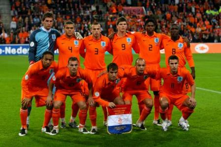 Dutch worldcup 2010 squad